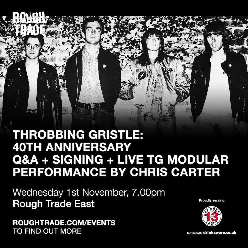 TG Rough Trade East